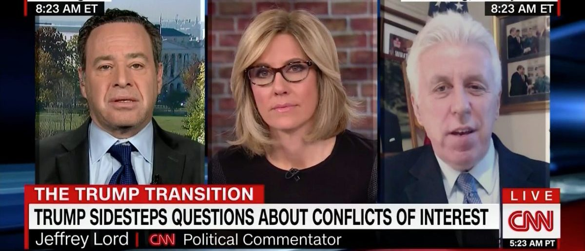 Jeffrey Lord Debates David Frum On CNN