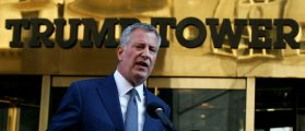 De Blasio Blames Trump's 'Rhetoric' For Anti-Black Murder In NYC