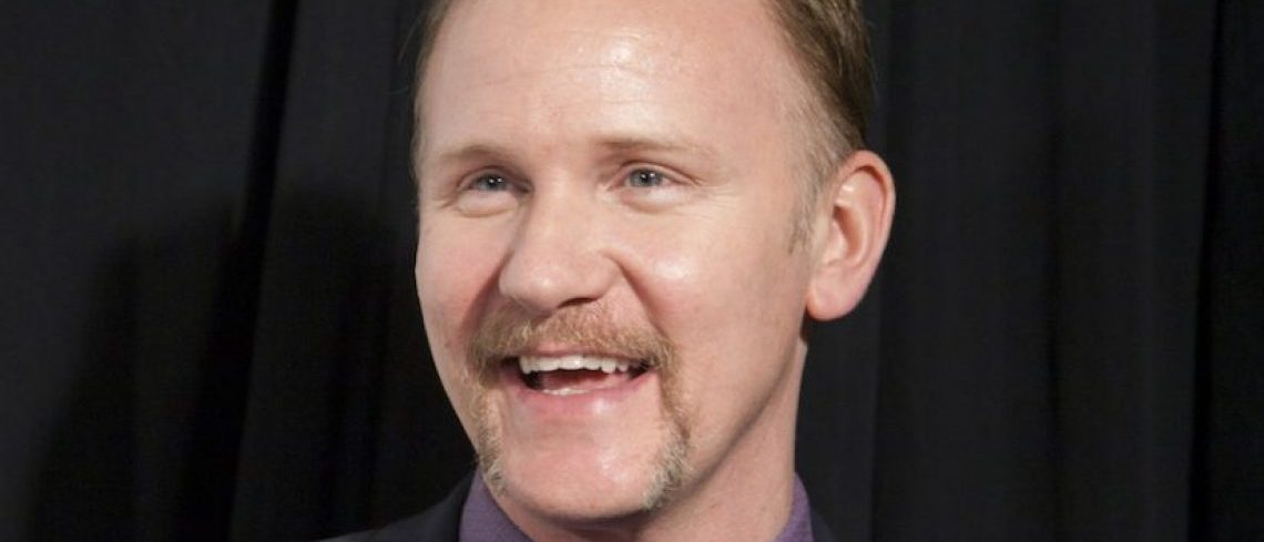 "Director, writer and producer Morgan Spurlock arrives for the world premiere of ""Mansome"" as part of the Tribeca Film Festival in New York April 21, 2012. REUTERS/Andrew Kelly"