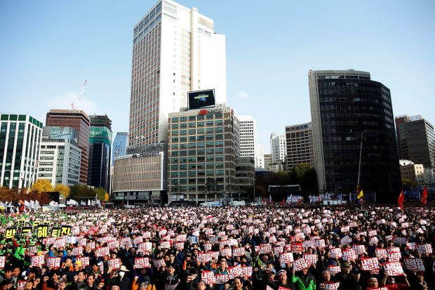 South Korean opposition to name prosecutors for Park scandal