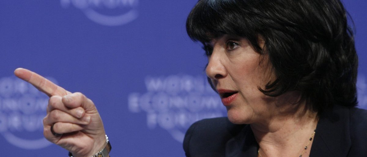 CNN International Chief International Correspondent Amanpour speaks with British Prime Minister Brown at the World Economic Forum in Davos