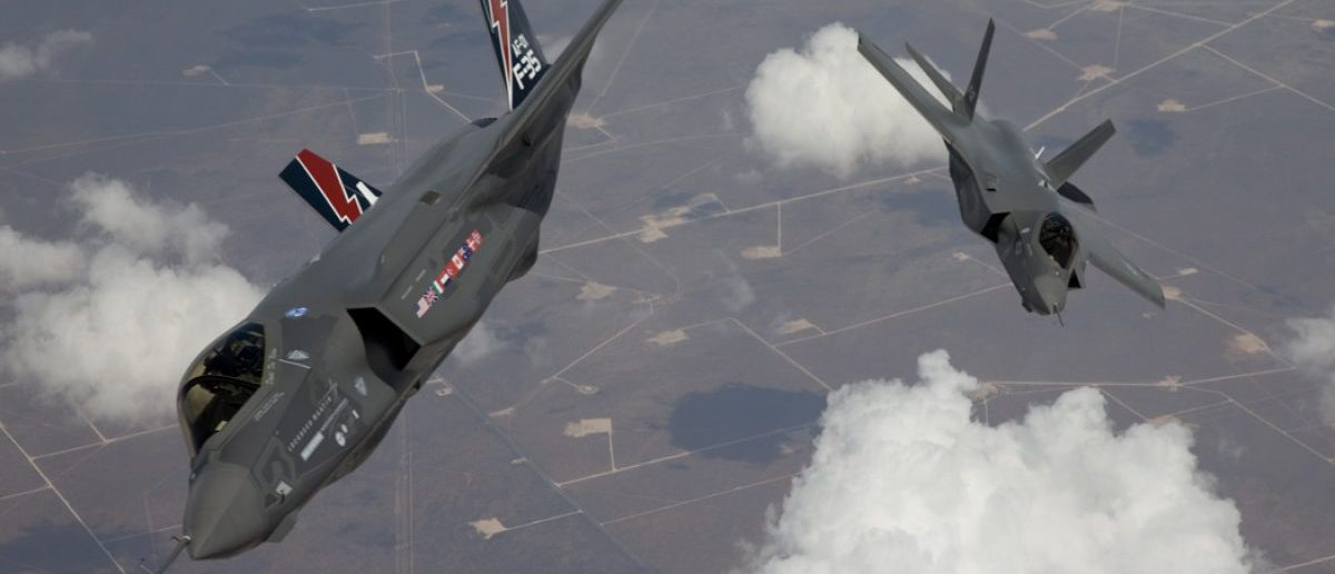"The F-35 Lightning II, also known as the Joint Strike Fighter (JSF), planes arrive at Edwards Air Force Base in California in this May 2010 file photo. The Pentagon on September 22, 2010 said it reached a ""fixed-price"" agreement with Lockheed Martin Corp for a fourth batch of F-35 fighter jets, wrapping up months of negotiations. Picture taken May 2010. REUTERS/Tom Reynolds/Lockheed Martin Corp/Handout"