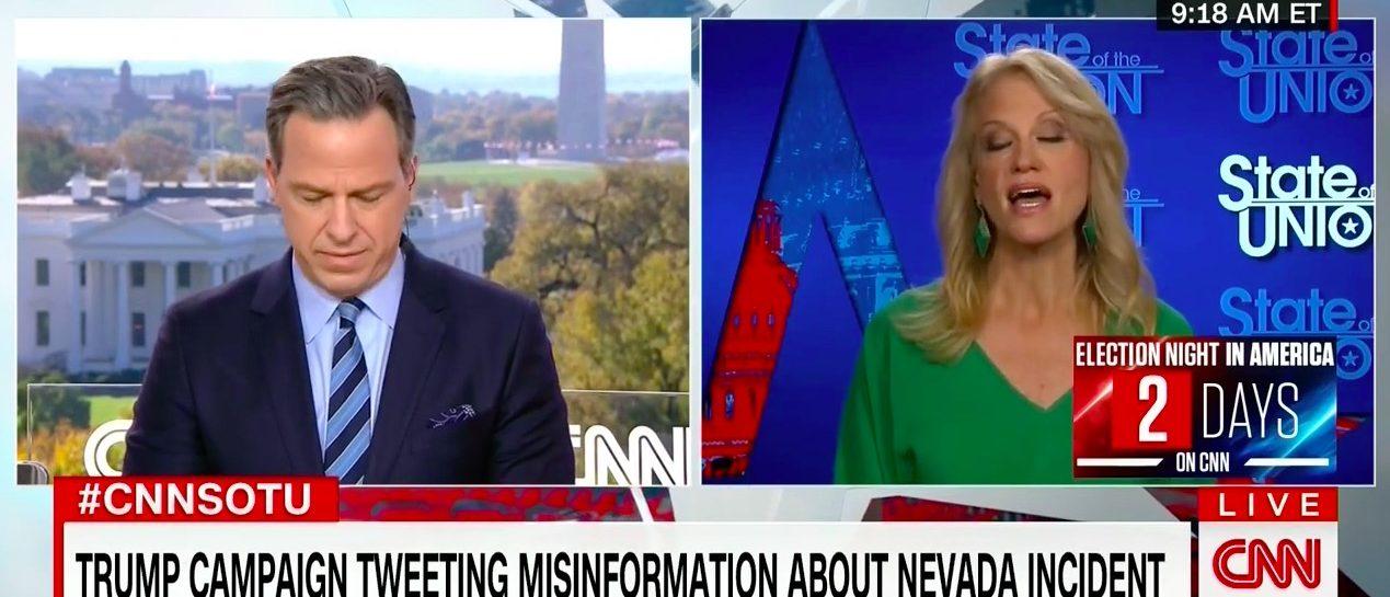 Jake Tapper, Kellyanne Conway (CNN)