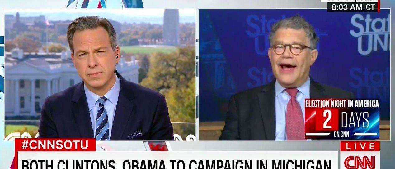 Jake Tapper, Al Franken (CNN)