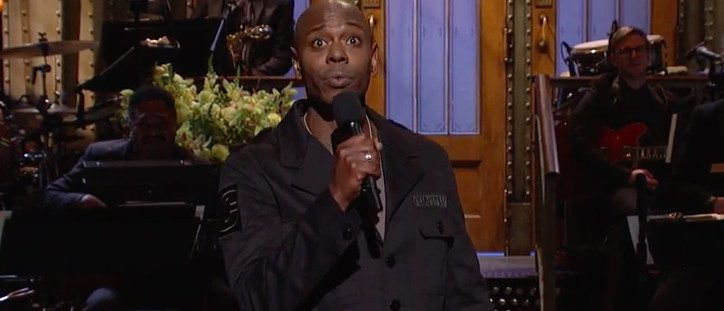 Dave Chappelle on 'Saturday Night Live'