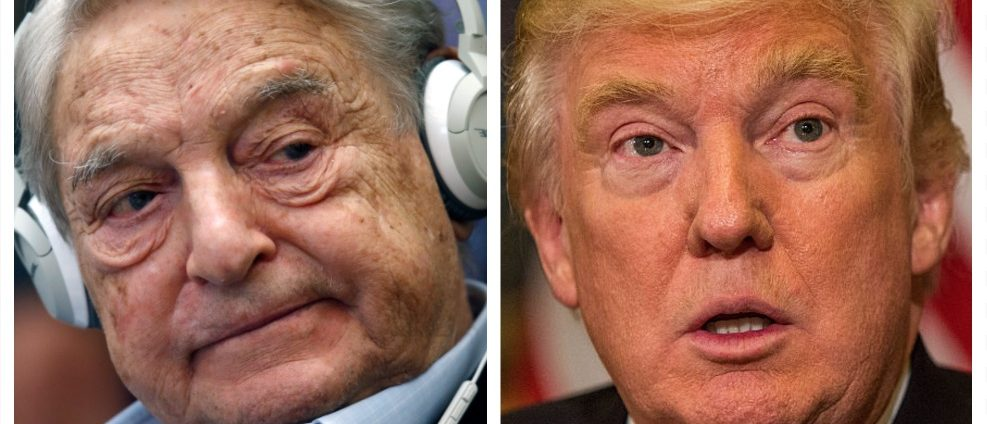George Soros, Donald Trump (Getty Images)
