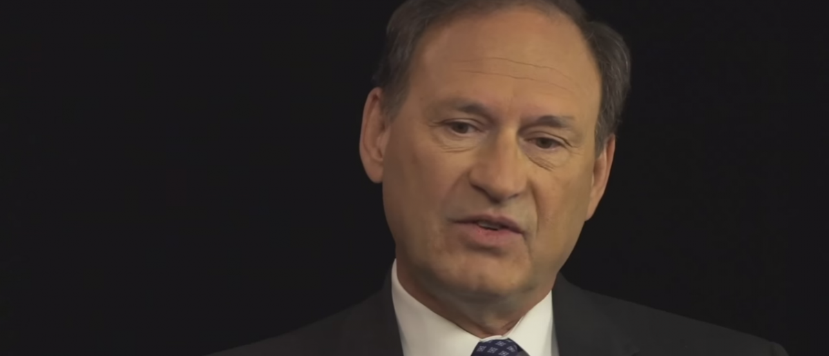 U.S. Supreme Court Justice Samuel Alito speaks with Bill Kristol. (Photo: YouTube screen grab/ Conversations with Bill Kristol)
