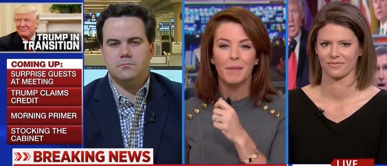 Robert Costa, Stephanie Ruhle, Kasie Hunt (MSNBC)