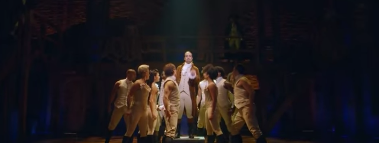 'Hamilton' Broadway Show (PBS News Hour YouTube Video Screen Capture)