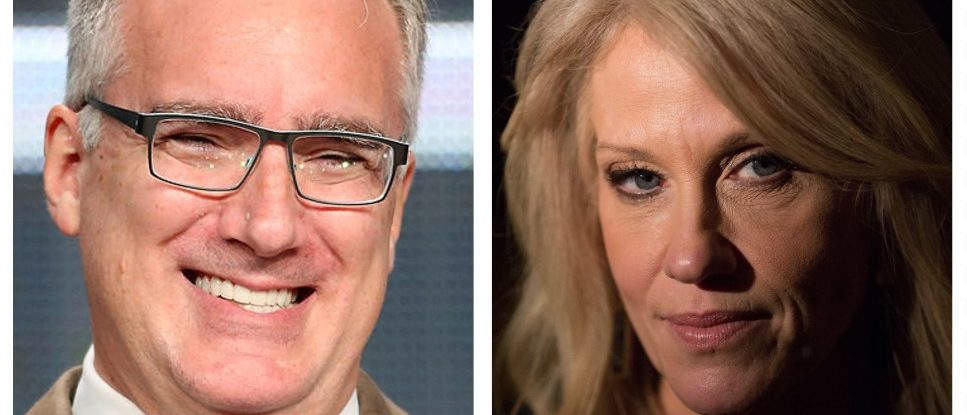 Keith Olbermann, Kellyanne Conway (Getty Images)