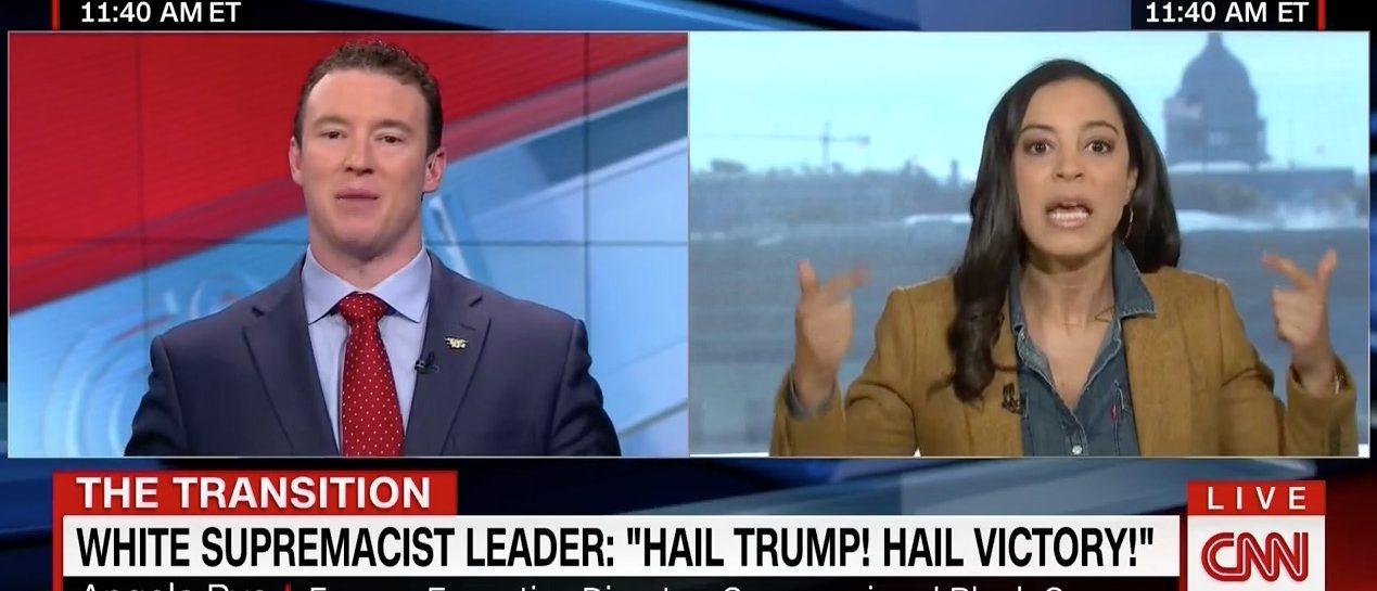 Carl Higbie, Angela Rye (CNN)