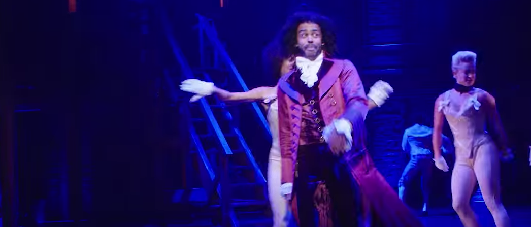 Broadway's 'Hamilton' (Wall Street Journal You Tube Video Screen Capture)