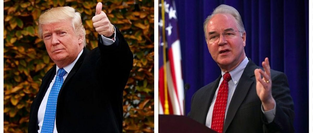 Donald Trump, Tom Price (Getty Images)