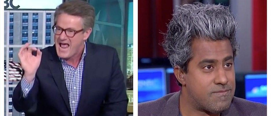 Joe Scarborough, Anand Giridharadas (MSNBC)
