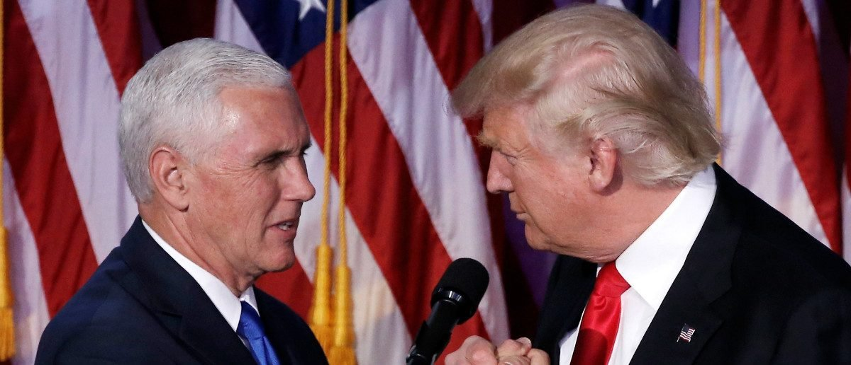 U.S. President-elect Donald Trump and Vice President-elect Mike Pence: REUTERS/Mike Segar