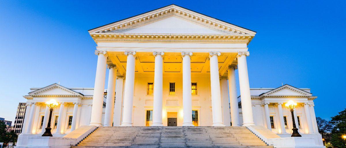 Virginia State House: Sean Pavone/shutterstock