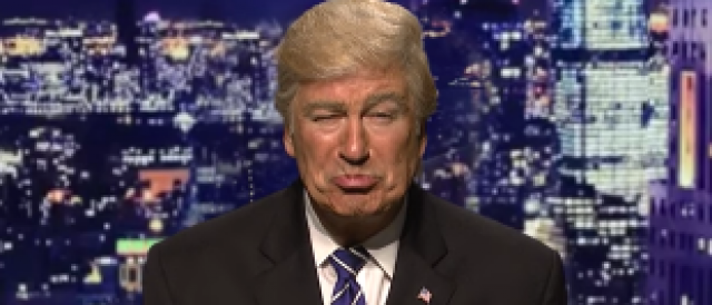Alec Baldwin as Donald Trump (Photo: YouTube screengrab)