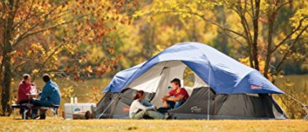 This tent is $60 off today (Photo via Amazon)