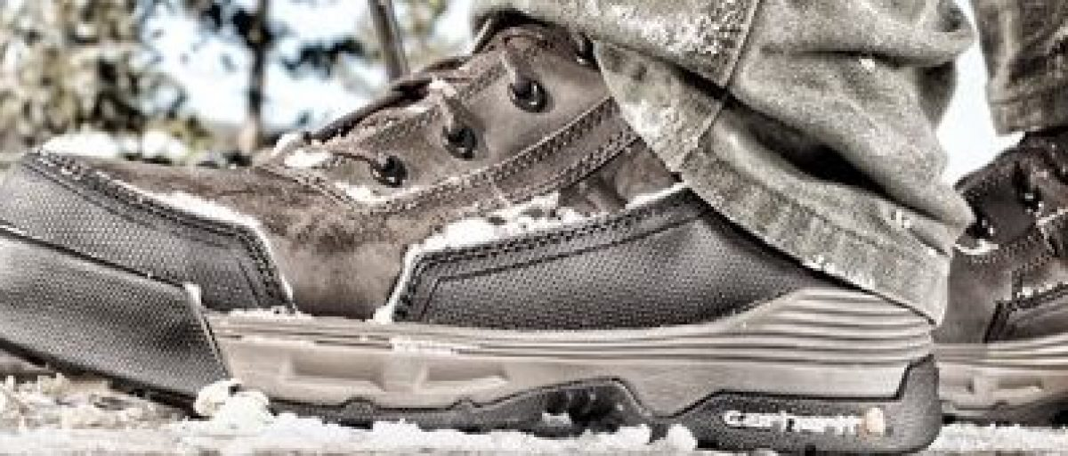 Carhartt is just one of the brands that has work boots on sale today (Photo via Amazon)