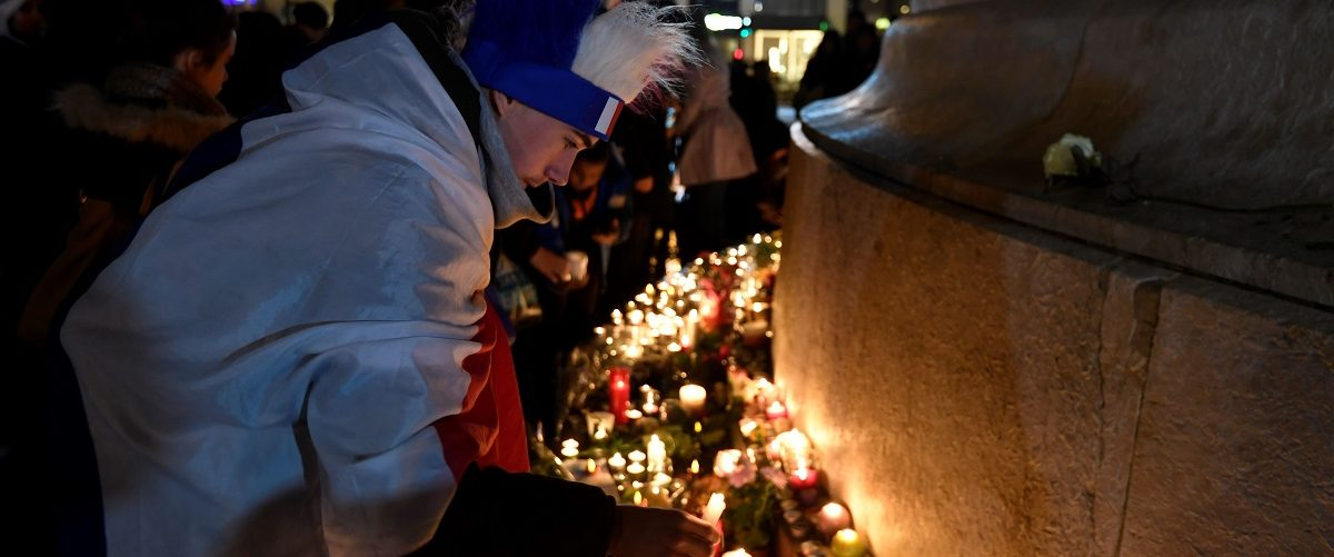130 people were killed on November 13, 2015 by gunmen and suicide bombers from the Islamic State (IS) group in a series of coordinated attacks in and around Paris. Alain Jocard/AFP/Getty Images.