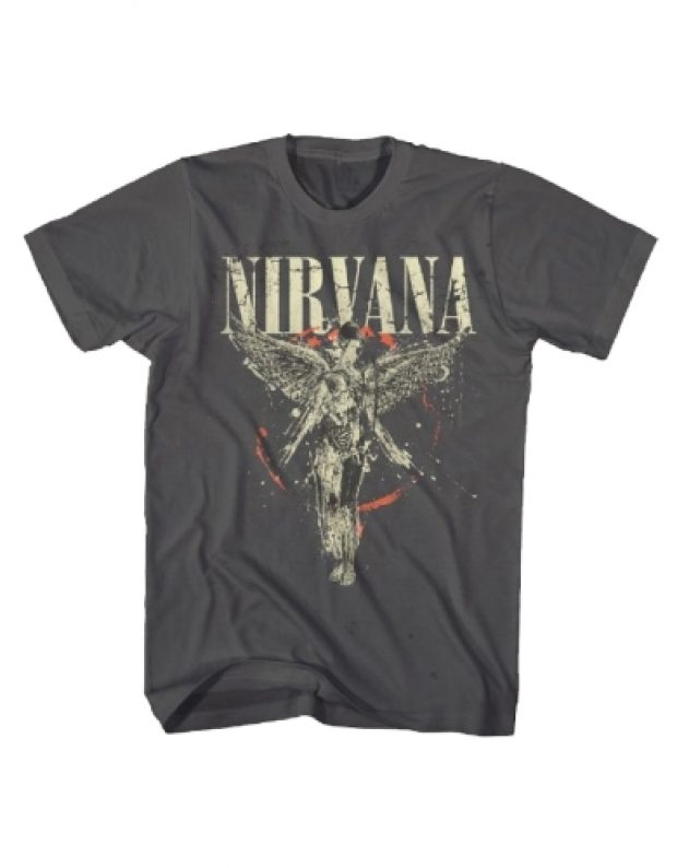 This Nirvana shirt is under $20 with the code DAILYCALLER15 (Photo via Rock.com)