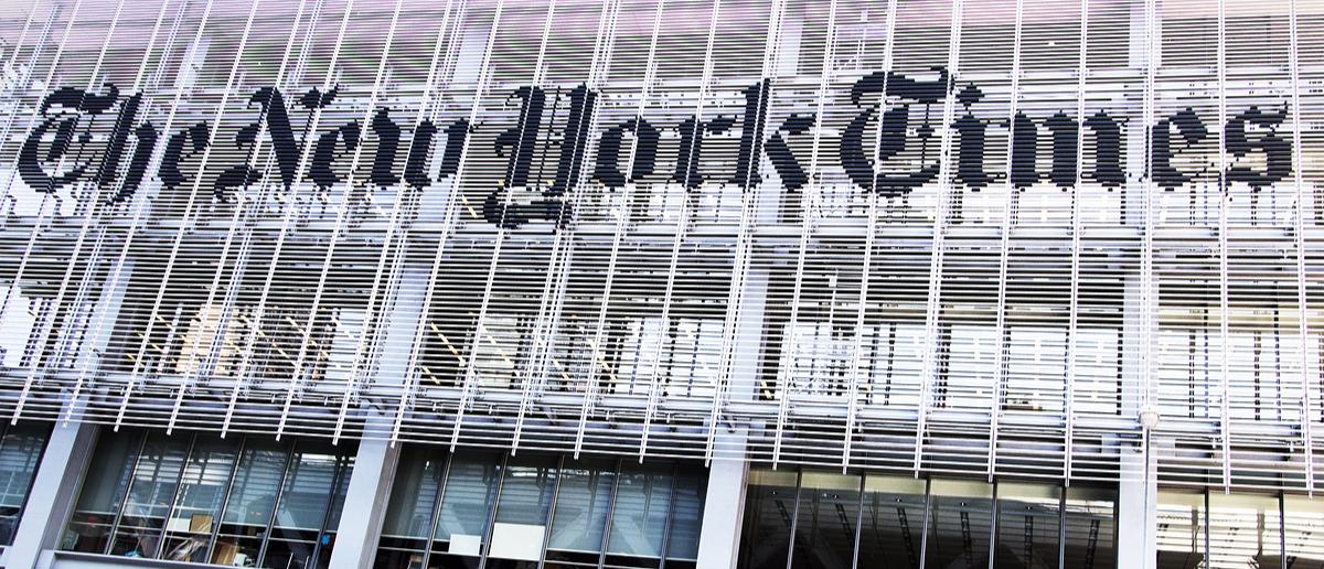 The New York Times (Credit: Erika Cross / Shutterstock.com)