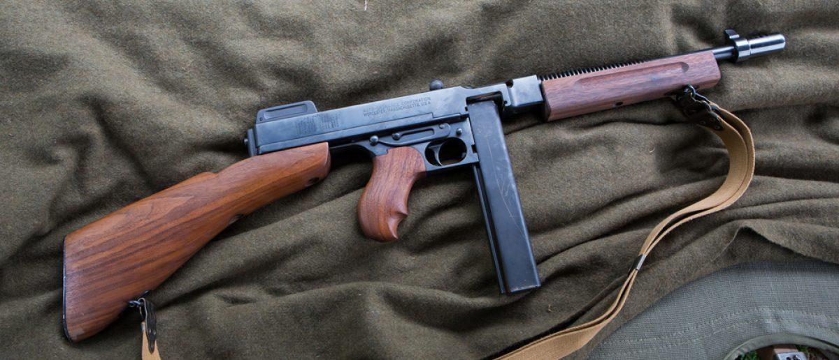 Thompson Submachine Gun (Kevin M. McCarthy / Shutterstock.com)