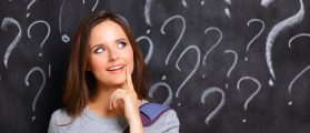 Confused woman (Credit: sheff/Shutterstock)