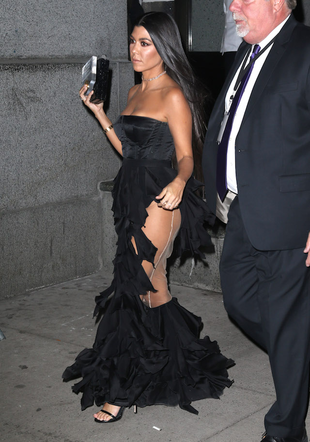 Kourtney Kardashian (Photo: Splash News)
