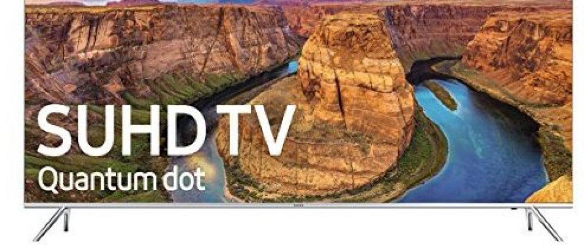 It's 2016, so you should have a 4K smart TV (Photo via Amazon)