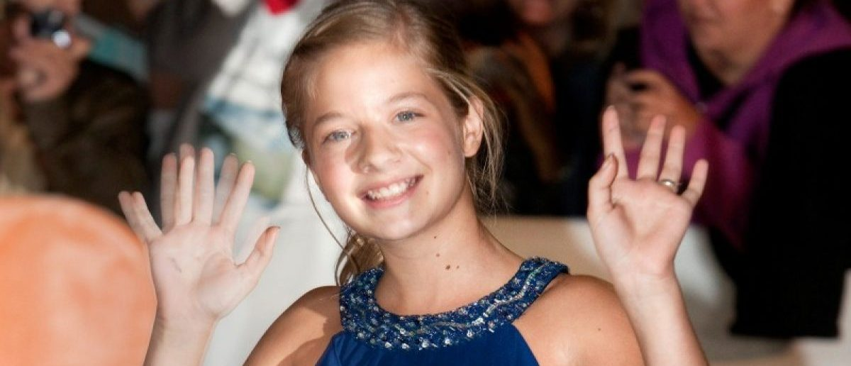 Actress Jackie Evancho arrives at the gala presentation for the film 'The Company You Keep' during the 37th Toronto International Film Festival, September 9, 2012. REUTERS/Fred Thornhill/File Photo