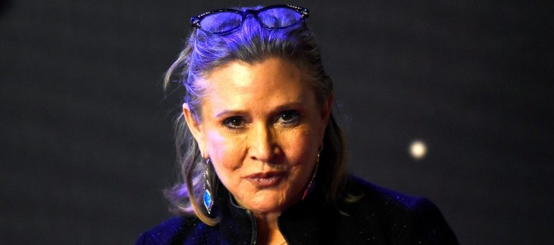 FILE PHOTO - Carrie Fisher poses for cameras as she arrives at the European Premiere of Star Wars, The Force Awakens in Leicester Square, London, December 16, 2015. REUTERS/Paul Hackett