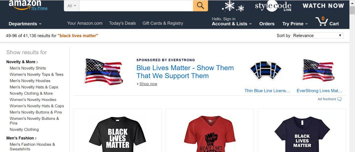 Amazon.com Screenshot (TheDCNF)