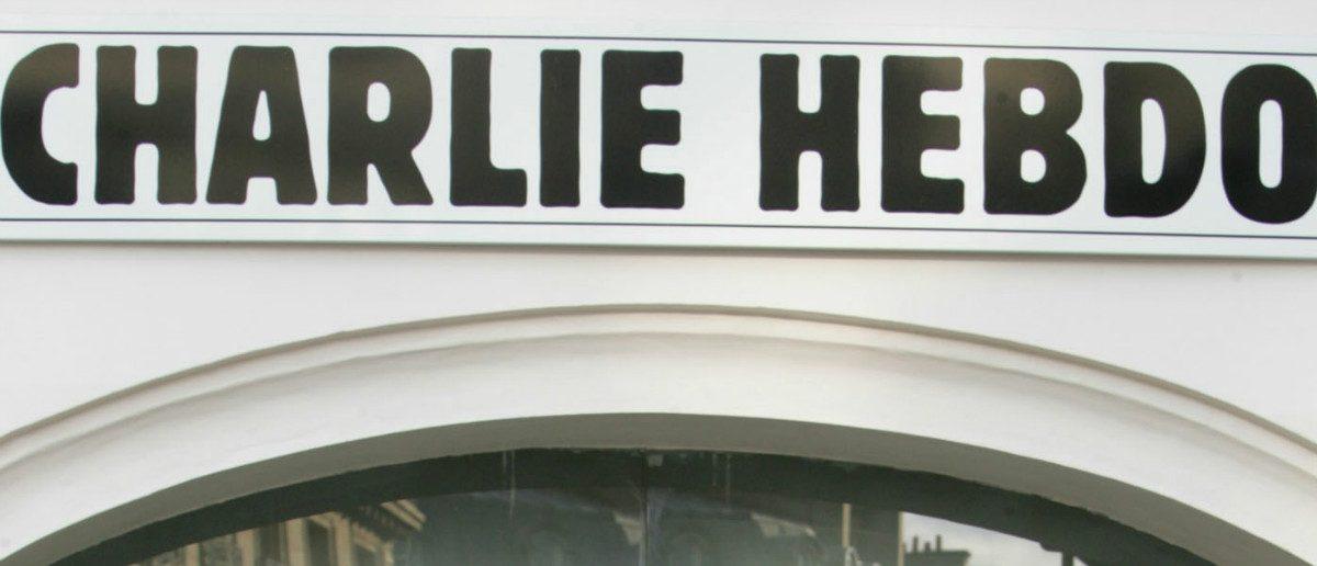 Charlie Hebdo Entrance: Regis Duvignau/Reuters