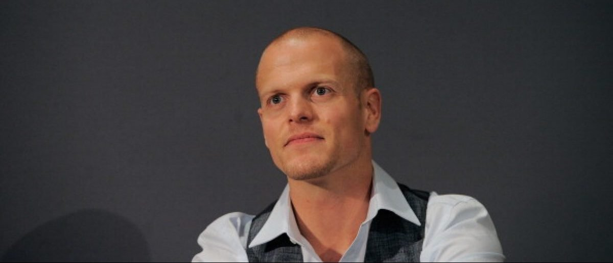 """NEW YORK, NY - MAY 26: Author Tim Ferriss speaks during the Meet the Author: Tim Ferriss """"The 4-Hour Body"""" at Apple Store Soho on May 26, 2011 in New York City. (Photo by Jemal Countess/Getty Images)"""