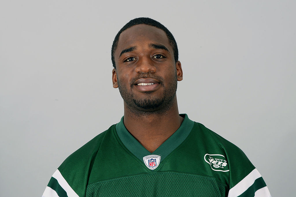 Joe McKnight of the New York Jets poses for his NFL headshot circa 2011 in Florham Park, New Jersey. (Photo by NFL via Getty Images)