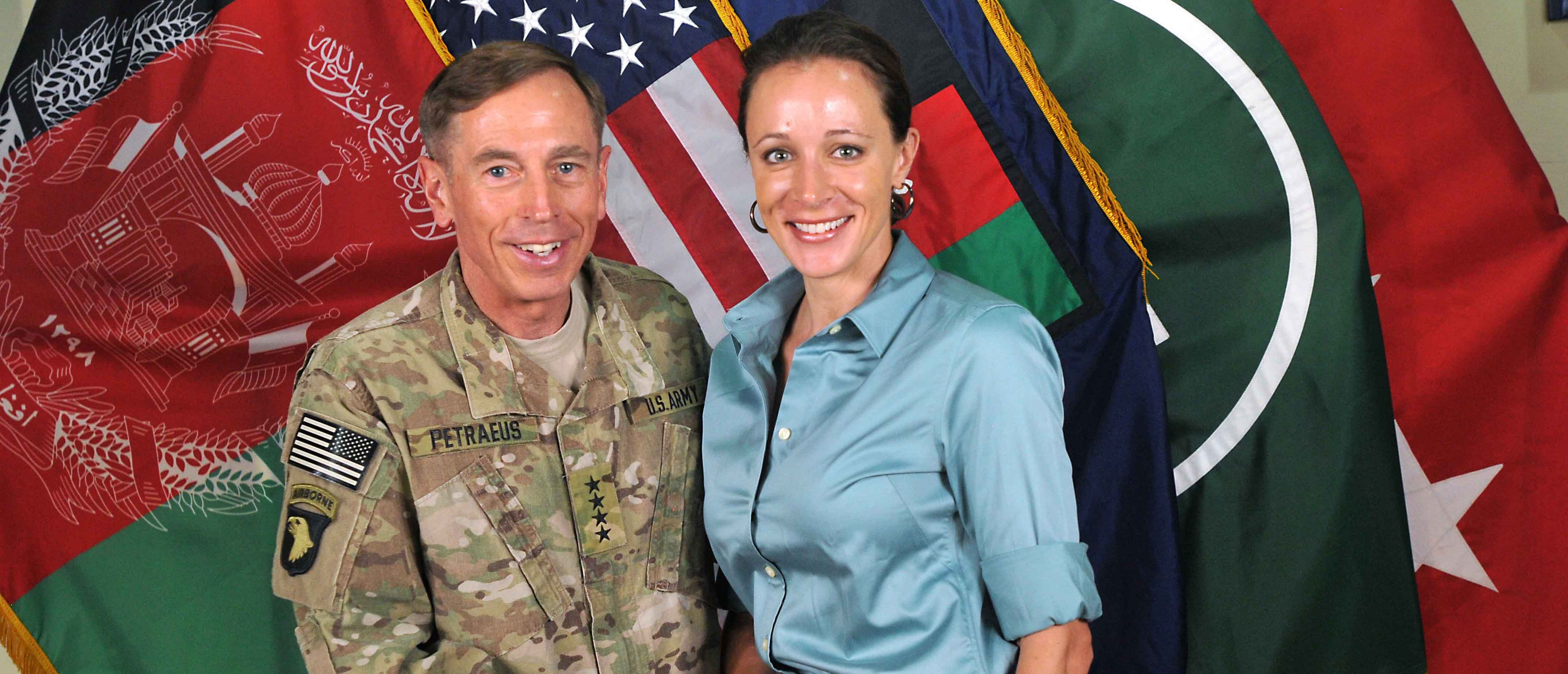 David Petraeus and Paula Broadwell (Getty Images)
