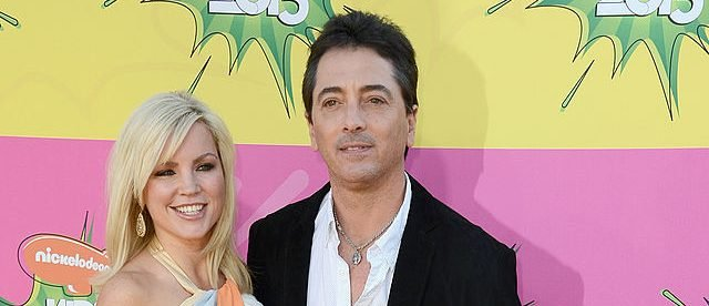 Actor Scott Baio (C) with wife Renee and daughter Bailey arrive at Nickelodeon's 26th Annual Kids' Choice Awards at USC Galen Center on March 23, 2013 in Los Angeles, California. (Photo by Frazer Harrison/Getty Images)