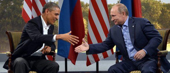 Barack Obama, Vladimir Putin (Getty Images)