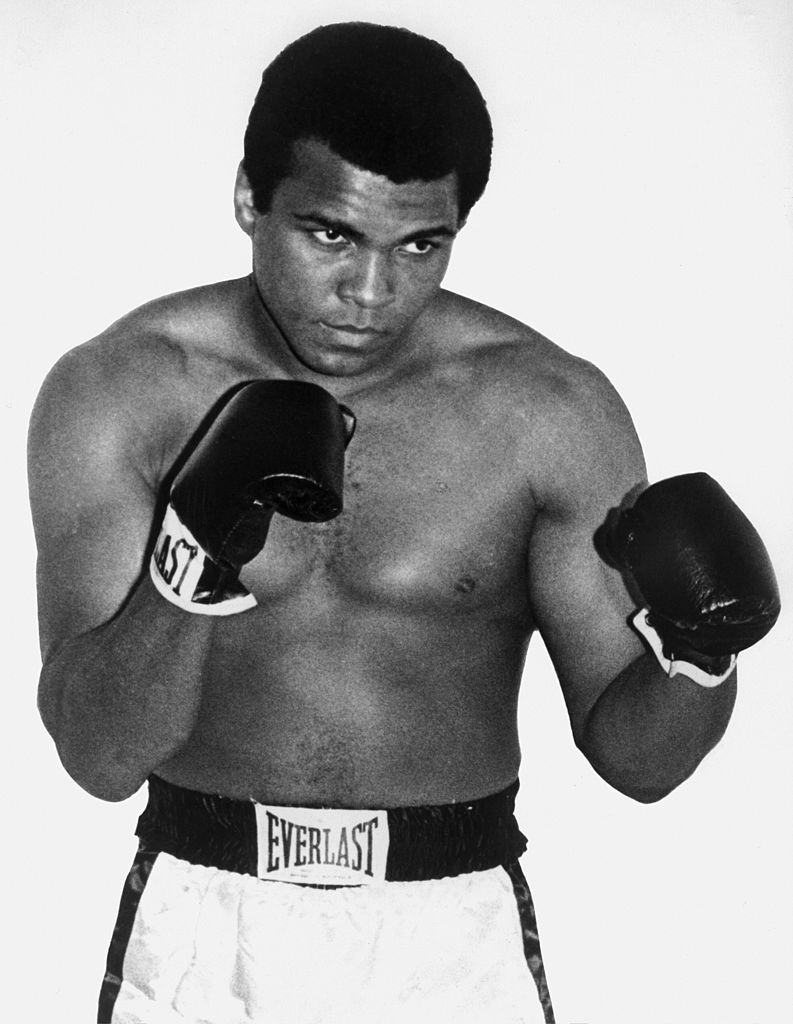 Boxing great Muhammad Ali passed on June 3. (Photo by AFP/Getty Images)