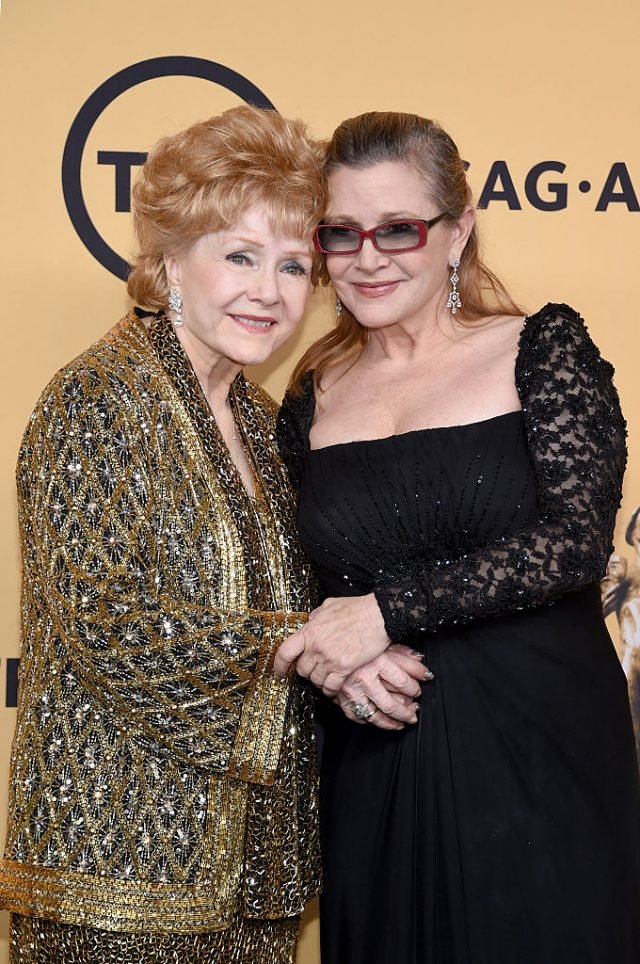 Debbie Reynolds and Carrie Fisher. (Photo: Getty Images)