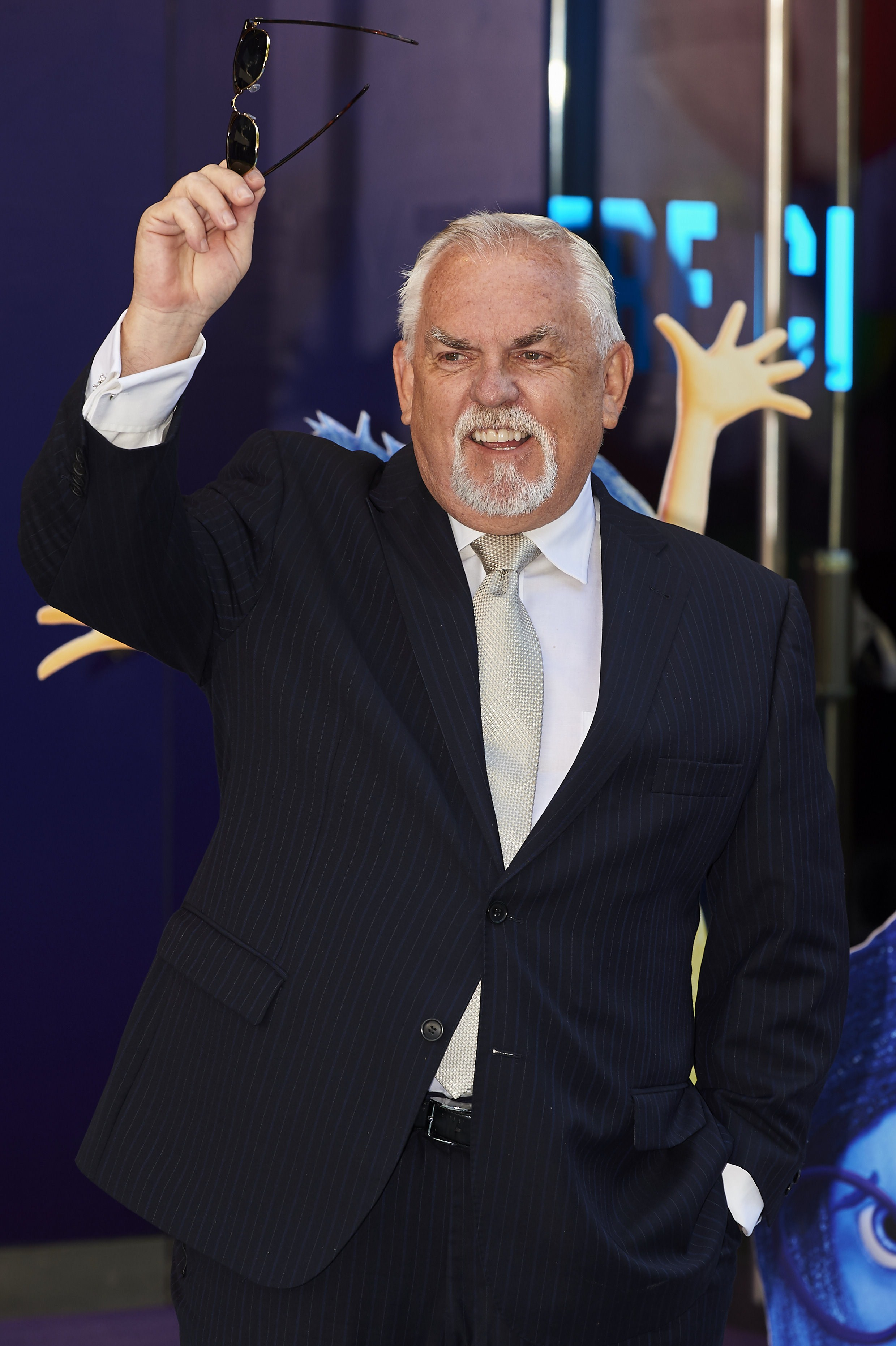 US actor John Ratzenberger poses ahead of a gala screening of the movie Inside Out in central London on July 19, 2015. AFP PHOTO / NIKLAS HALLE'N (Photo credit should read NIKLAS HALLE'N/AFP/Getty Images)