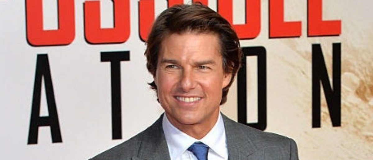 """Tom Cruise attends an exclusive screening of """"Mission: Impossible Rogue Nation"""" at BFI IMAX on July 25, 2015 in London. (Photo by Anthony Harvey/Getty Images)"""