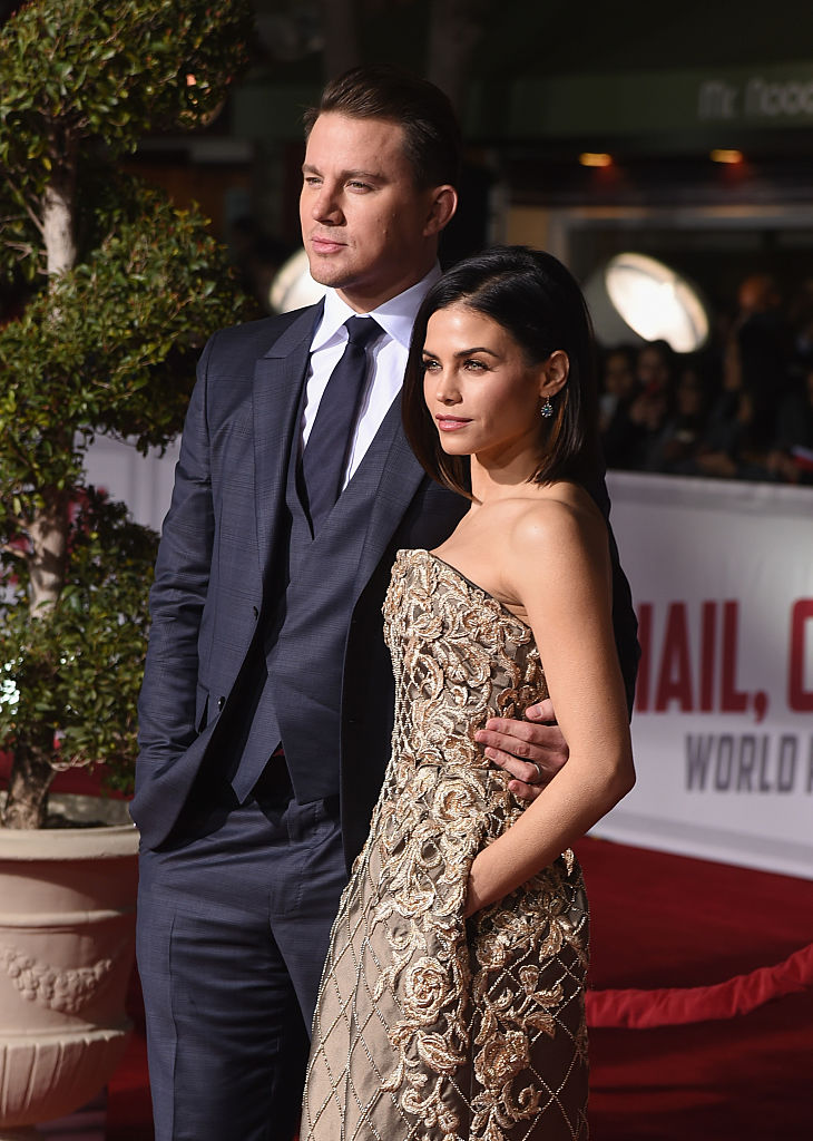 Channing and Jenna Tatum (Photo credit: Getty Images)