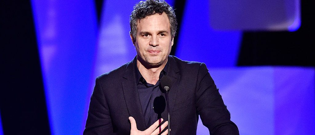 Actor Mark Ruffalo accepts the Robert Altman Award for 'Spotlight' onstage during the 2016 Film Independent Spirit Awards on February 27, 2016 in Santa Monica, California. (Photo by Kevork Djansezian/Getty Images)