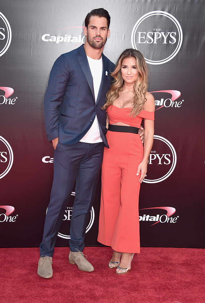 Eric and Jessie James Decker (Photo credit: Getty Images)
