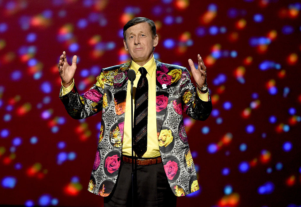 Honoree Craig Sager accepts the Jimmy V Award for Perserverance onstage during the 2016 ESPYS at Microsoft Theater on July 13, 2016 in Los Angeles, California. (Photo by Kevin Winter/Getty Images)