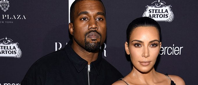 """Kanye West and Kim Kardashian West attend Harper's Bazaar's celebration of """"ICONS By Carine Roitfeld"""" presented by Infor, Laura Mercier, and Stella Artois at The Plaza Hotel on September 9, 2016 in New York City. (Photo by Dimitrios Kambouris/Getty Images for Harper's Bazaar)"""