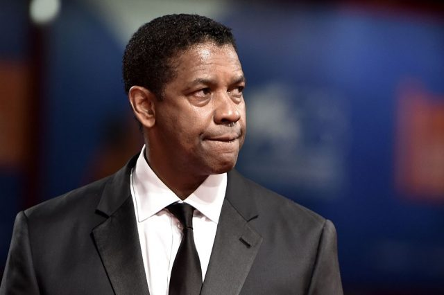 Actor Denzel Washington attends the Premiere of the movie 'The Magnificent Seven' following the ceremony awards at the 73rd Venice Film Festival on September 10, 2016 at Venice Lido. (TIZIANA FABI/AFP/Getty Images)