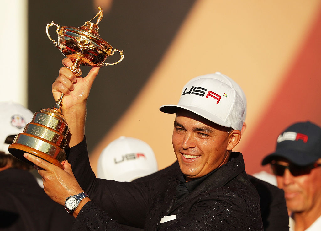Rickie Fowler Ryder Cup (Photo credit: Getty Images)
